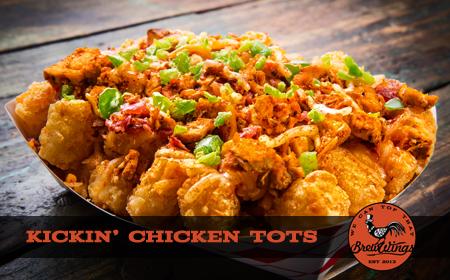 Kickin Chicken Food Truck Menu