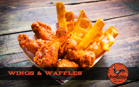 Brewwings Food Truck Catering La Chicken Wings Waffles And More