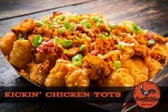 Kickin' Chicken Tots