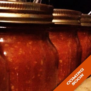 coming soon image for stefano's original buffalo wing sauce